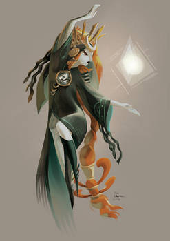 Midna re-design for character design challenge