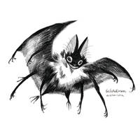 Batty with many leggy by evelmiina