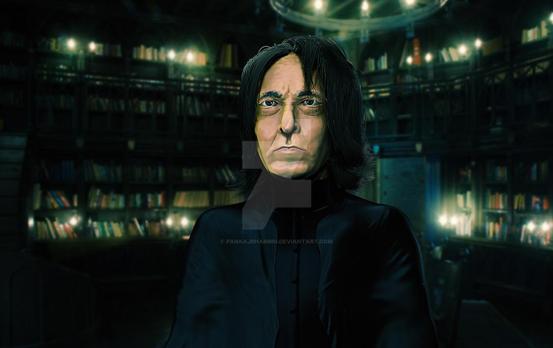 Professor Snape by pankajbhambri