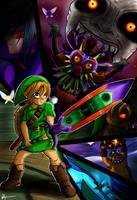 Majora's Mask : The Legend of Motherf*cking Link by Veguito2b