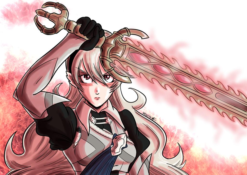 Corrin (Female) - Fire Emblem Fates by Veguito2b