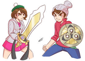 Pokemon Sword and Shield by Veguito2b
