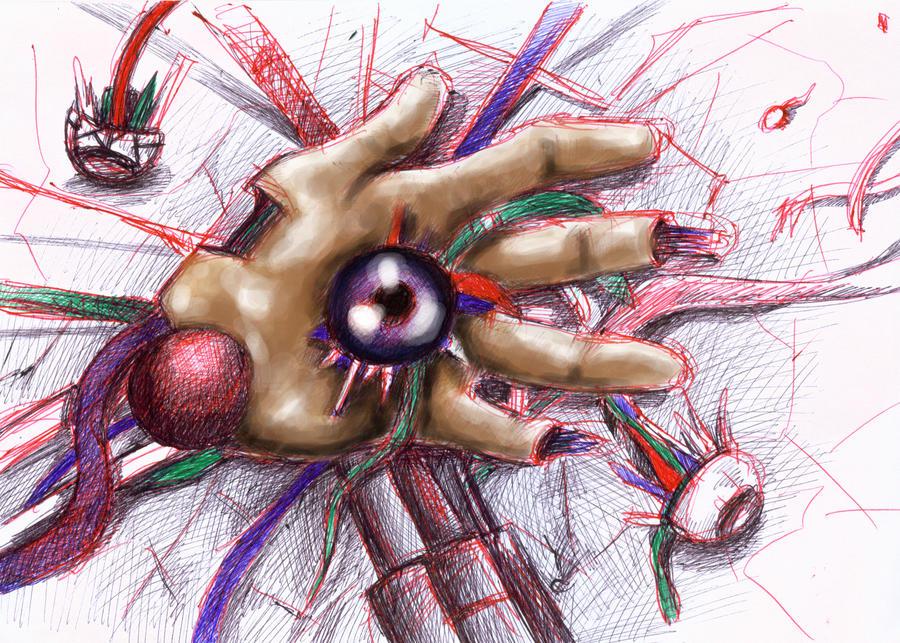 hand... by tigeragito