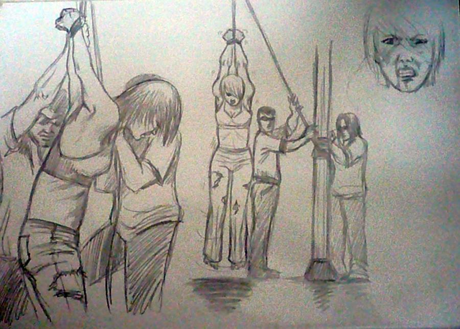 strappado torture by tigeragito