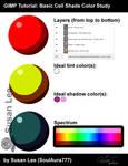 TUTORIAL: GIMP - Basic Cell Shade Color Study
