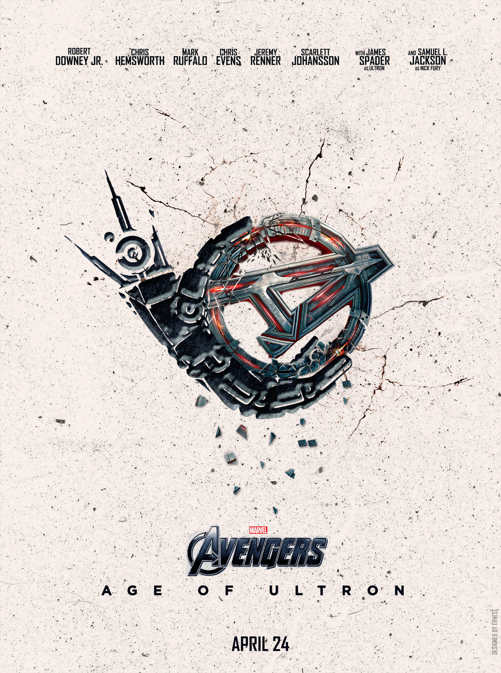 Avengers Age Of Ultron By Iloegbunam On Deviantart: Avengers: Age Of Ultron Teaser Poster By Ernest93 On