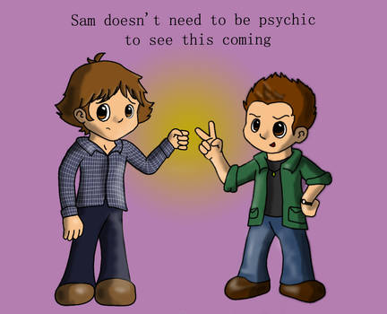 Sam and Dean Face Off