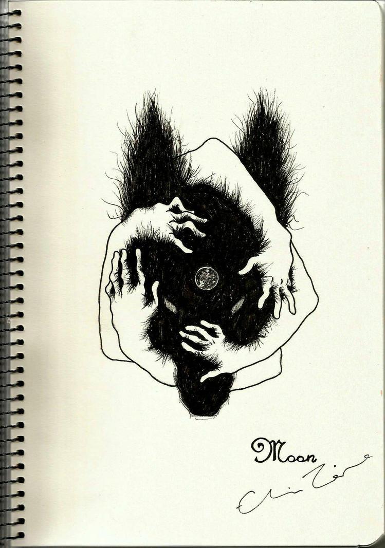 moon   by torekin