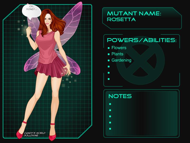 X Girl Disney fairies: Rosetta by goldfairie on DeviantArt X Men Girl Creator