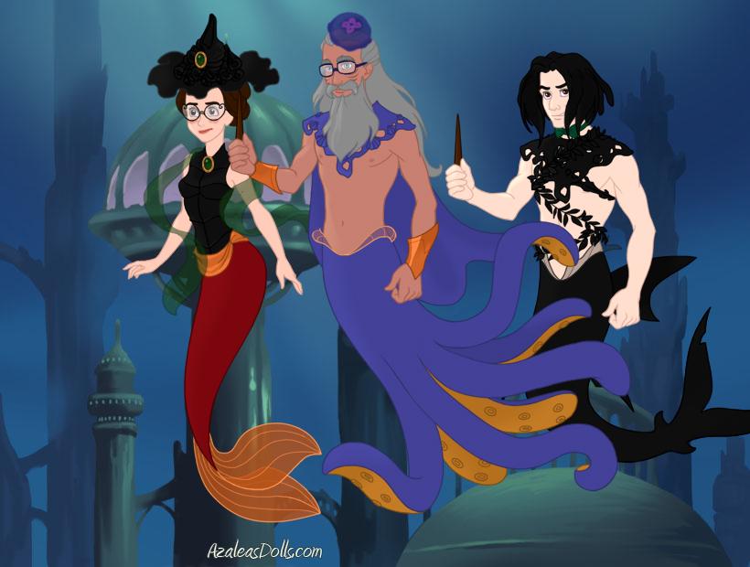 Hogwarts Merpeople By Goldfairie On DeviantArt