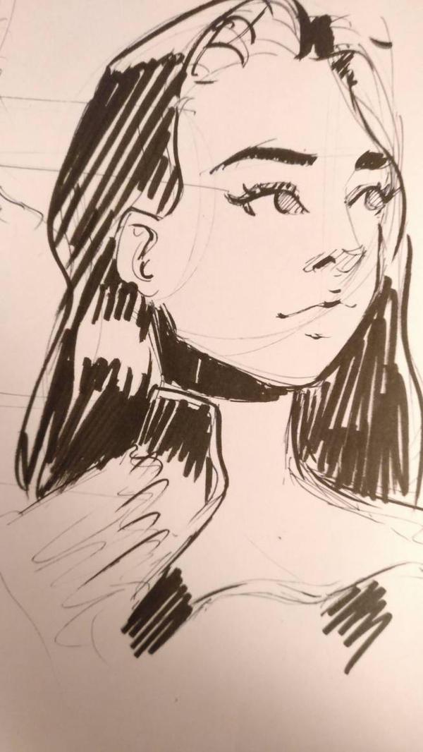 brush pen tryout by David5154