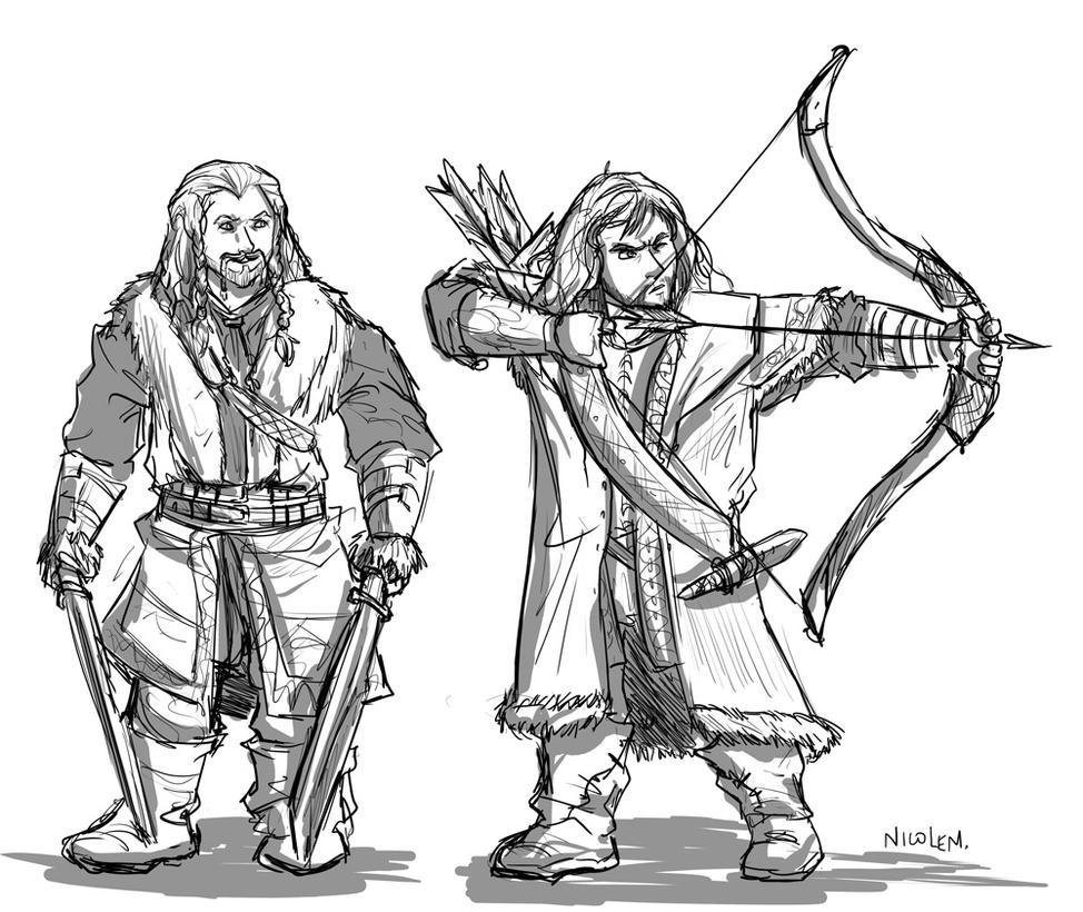 Best Hobbit Dwarves Coloring Pages Contemporary - Triamterene.us ...