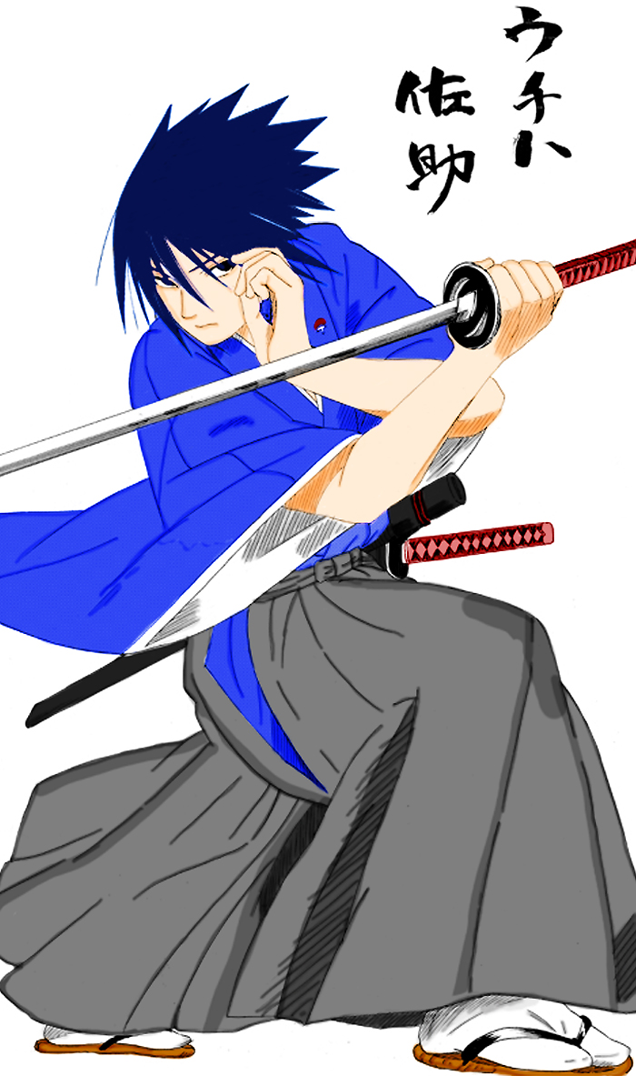 Sasuke Uchiha Samurai Shogun By M Is For Murder On Deviantart