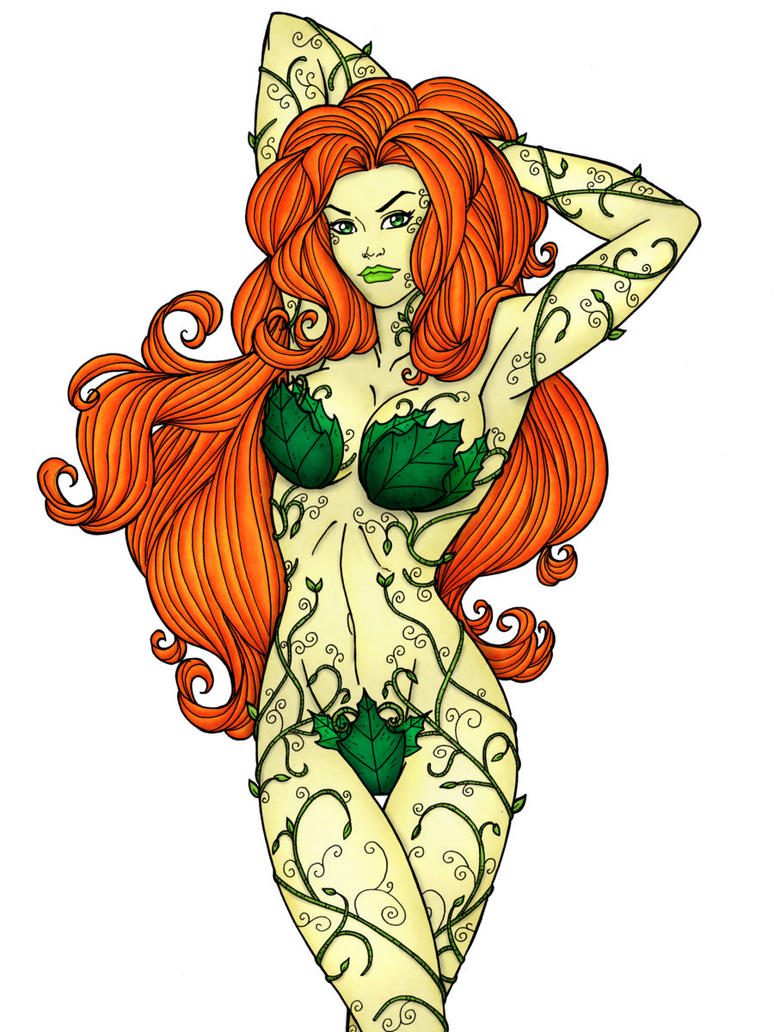 Poison Ivy - Coloured by toonham