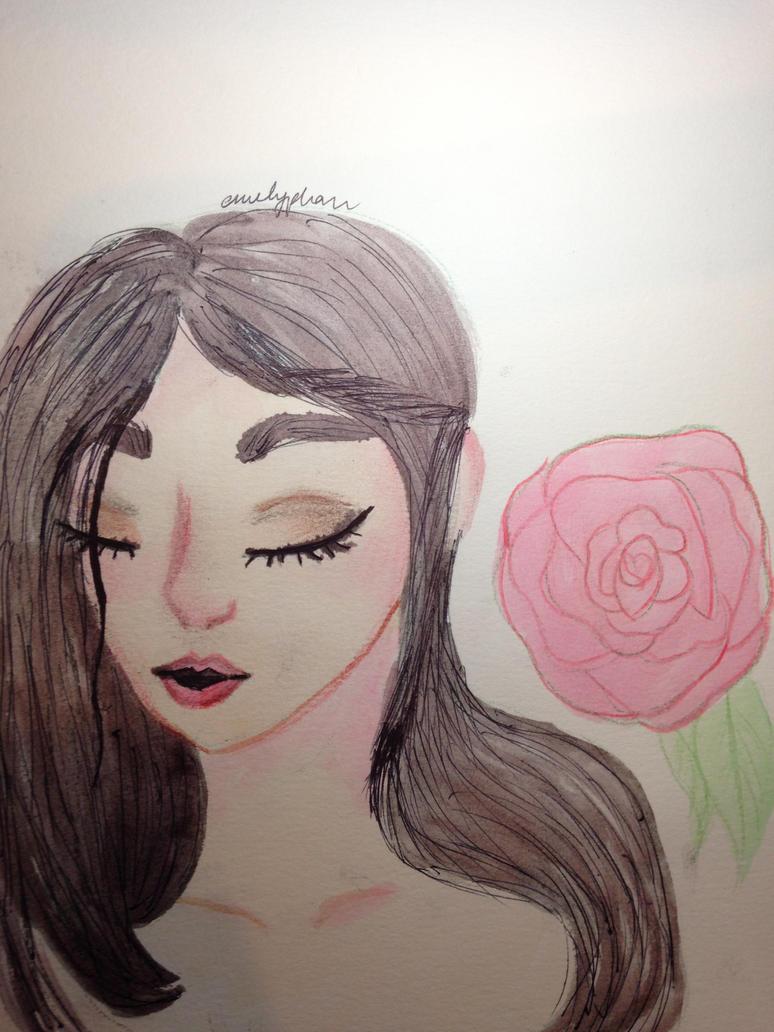 Rosey Cheeks by emilyunicorn74