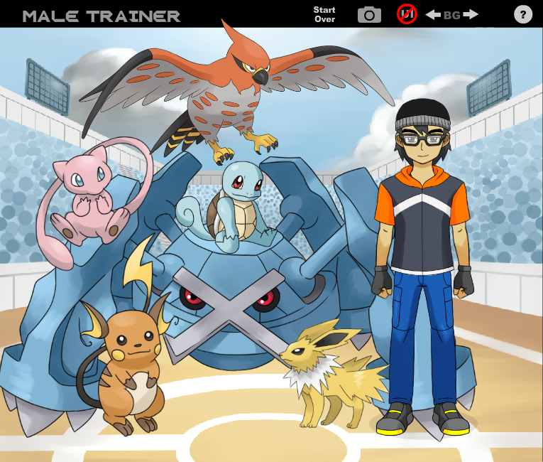 Me as a Pokemon Trainer by GameTagger457