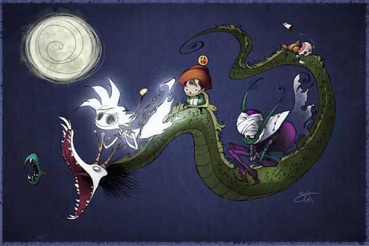 Moonlit Joy Ride