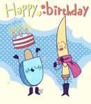 Happy birthday happy birthday [gift art]