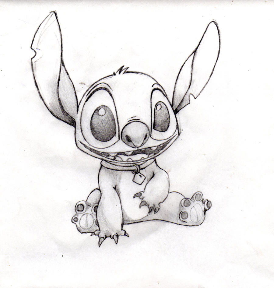 Drawings of Lilo And Stitch Lilo And Stitch Without