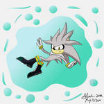 Silver the hedgehog  by Shadow2000s