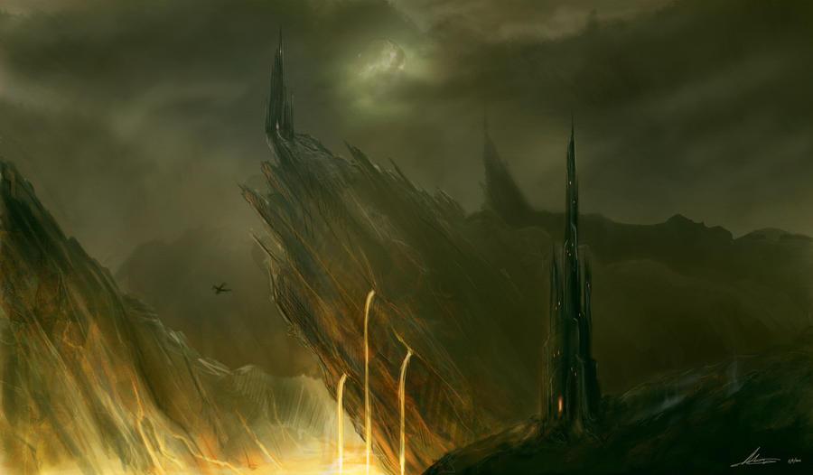 Volcanic world. by Arleth012