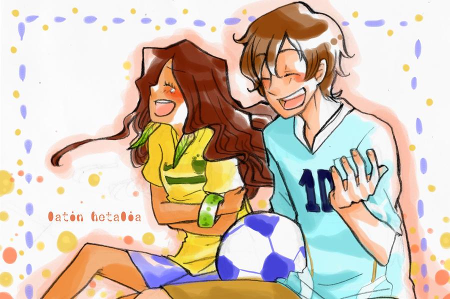 APH OCs Brazil Uruguay by nayu2NA
