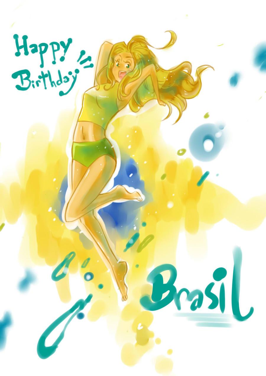 APH-Happy birthday Brasil by nayu2NA