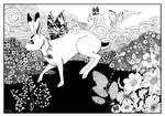 The hare tormented by pixies