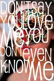 Don't say you love me. by doughnutsandicecream