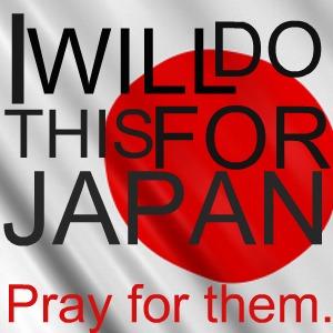pray for japan by doughnutsandicecream