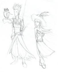 Rednach e Lia by Roku-san