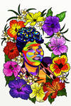 Ella Fitzgerald Pop Art Painting by LorraineKelly