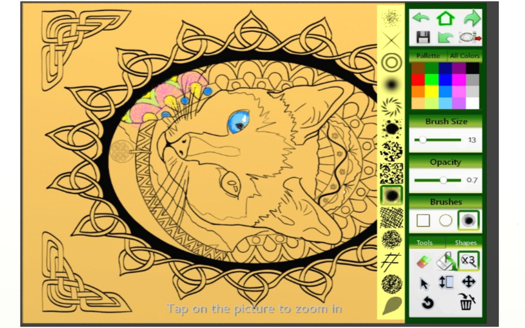 Free Adult Coloring App Celtic Knots By Lorrainekelly