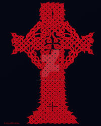 Celtic Cross for Anzac Day by LorraineKelly