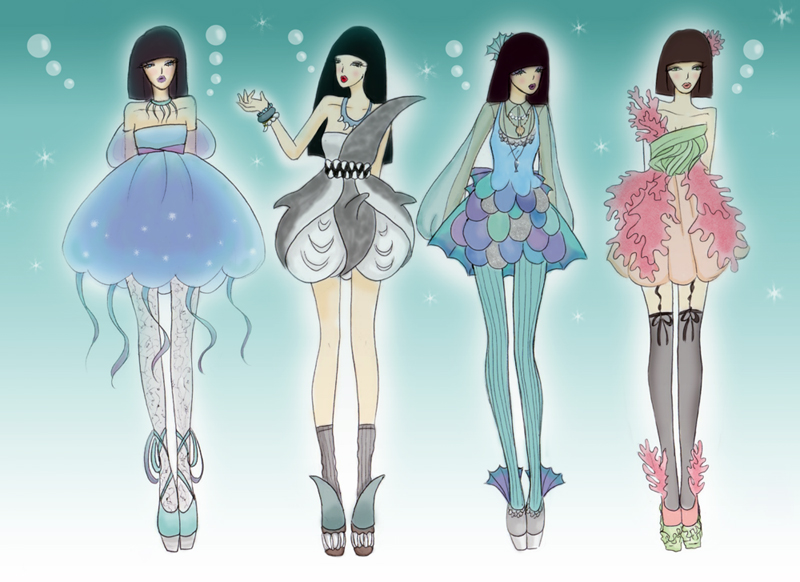 Underwater collection by fatpear