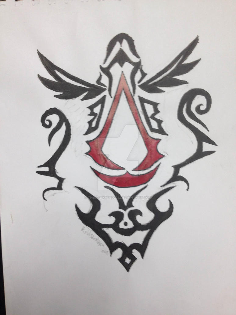Tribal assassins creed symbol by thedarkmind221 on deviantart tribal assassins creed symbol by thedarkmind221 biocorpaavc Images