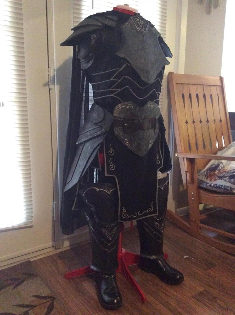 Skyrim Ebony Armor by Tamagachi-chan