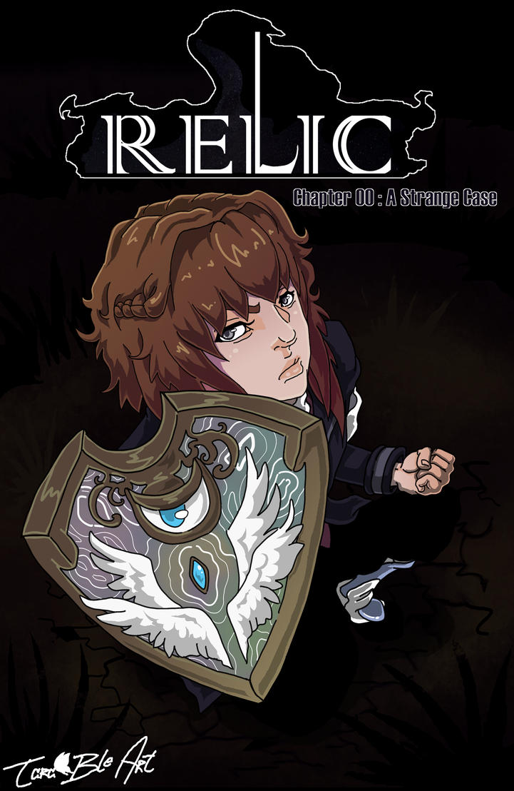 RELIC Pilot Cover Art: A Strange Case by Tara-bleArt