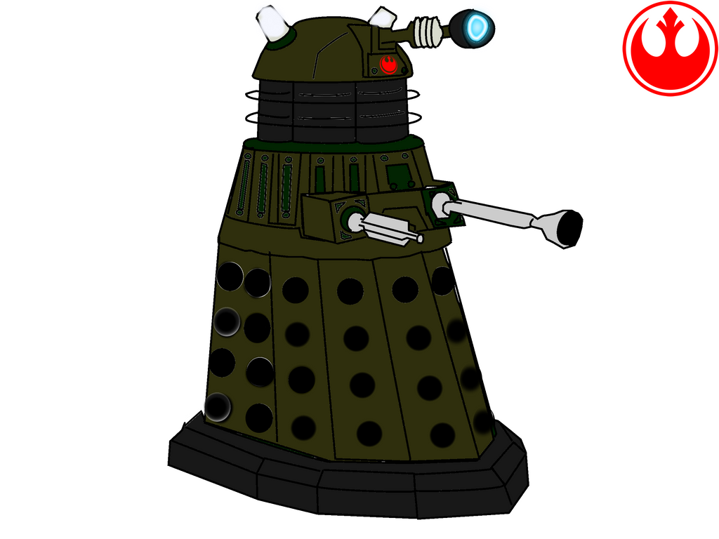 Colored dalek  Etsy
