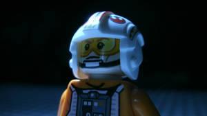 Lego Luke Skywalker pilot