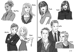 torchwood and doctor who team