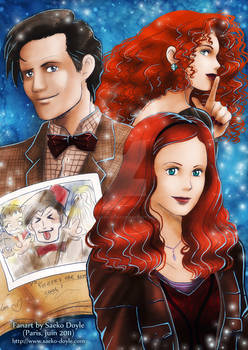 Fanart DoctorWho Eleven and co
