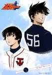 Goro and Toshiya from Major by saeko-doyle