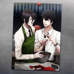 [Psycho-Pass] Choco Kogino by saeko-doyle