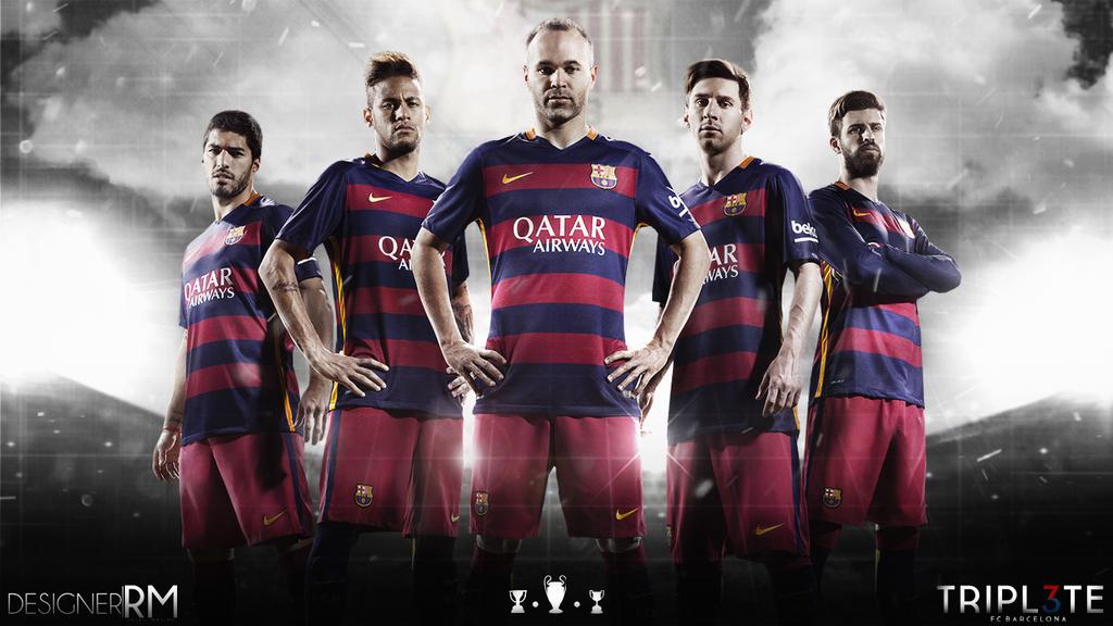 FC Barcelona Wallpaper 2015 By RafaelMaximo