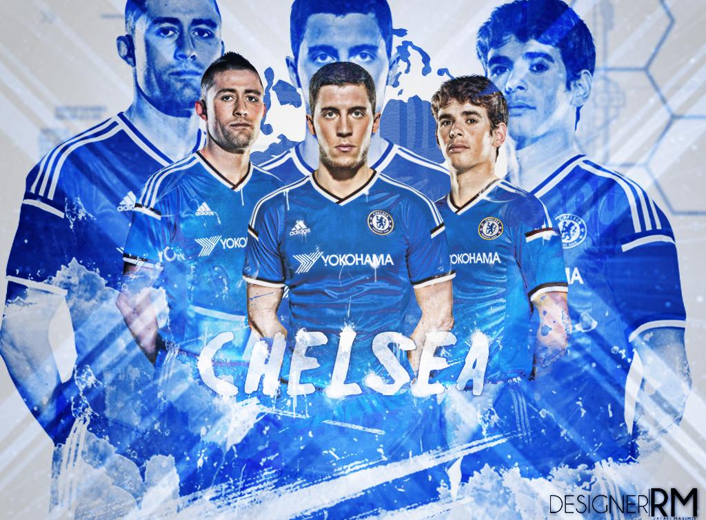 Chelsea Home Kit 2015 16 By RafaelMaximo