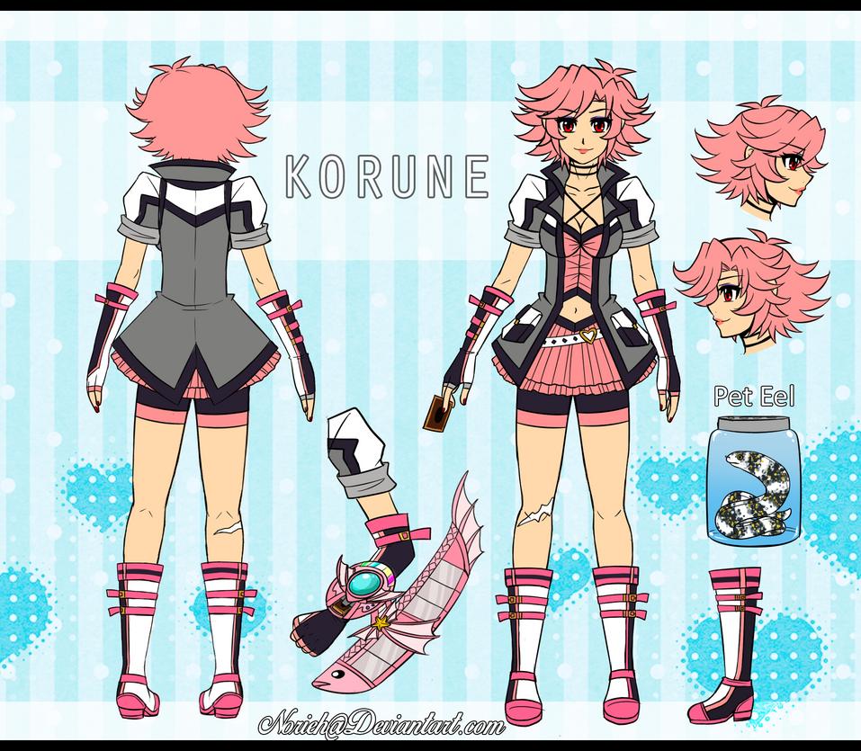 FC- OC Ref - Korune by Norieh
