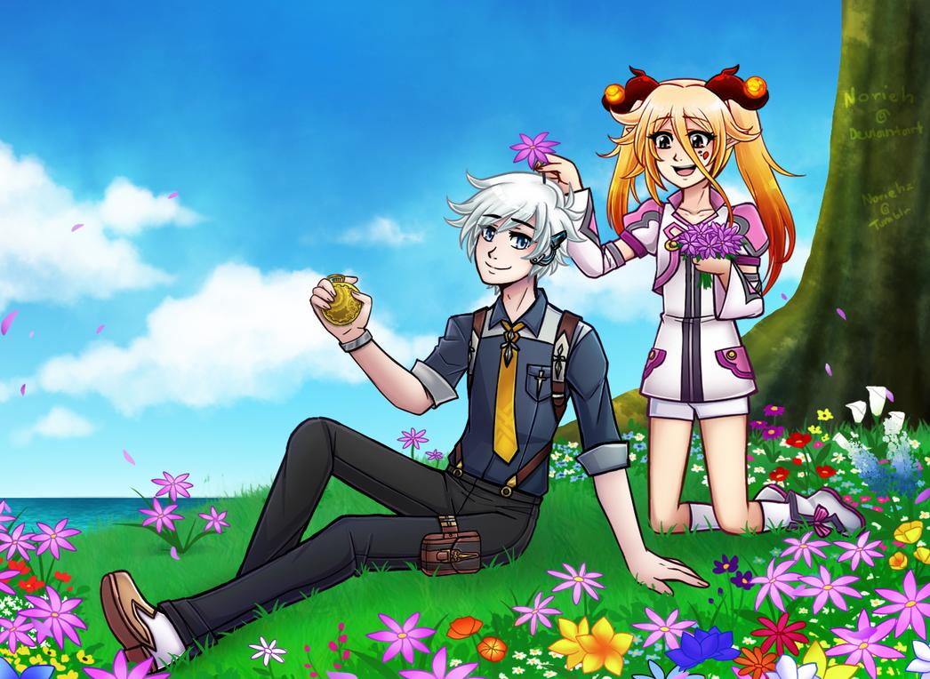 Flowers 4 u by Norieh