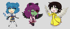 Chibis by Norieh