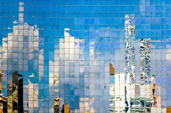 City reflection by igorsky